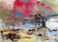 New Aberteifi: Contemporary Landscape Oil Painting by Andrew Francis