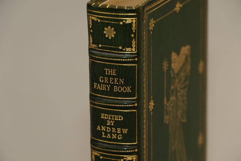 First edition. Leather bound. 1 volume. Bound in full green Morocco by Aspreys with all edges gilt, raised bands, and ornate gilt tooling on covers and spines. Very good. Published in London by Longmans, Green, and Co. in 1892.  Children's