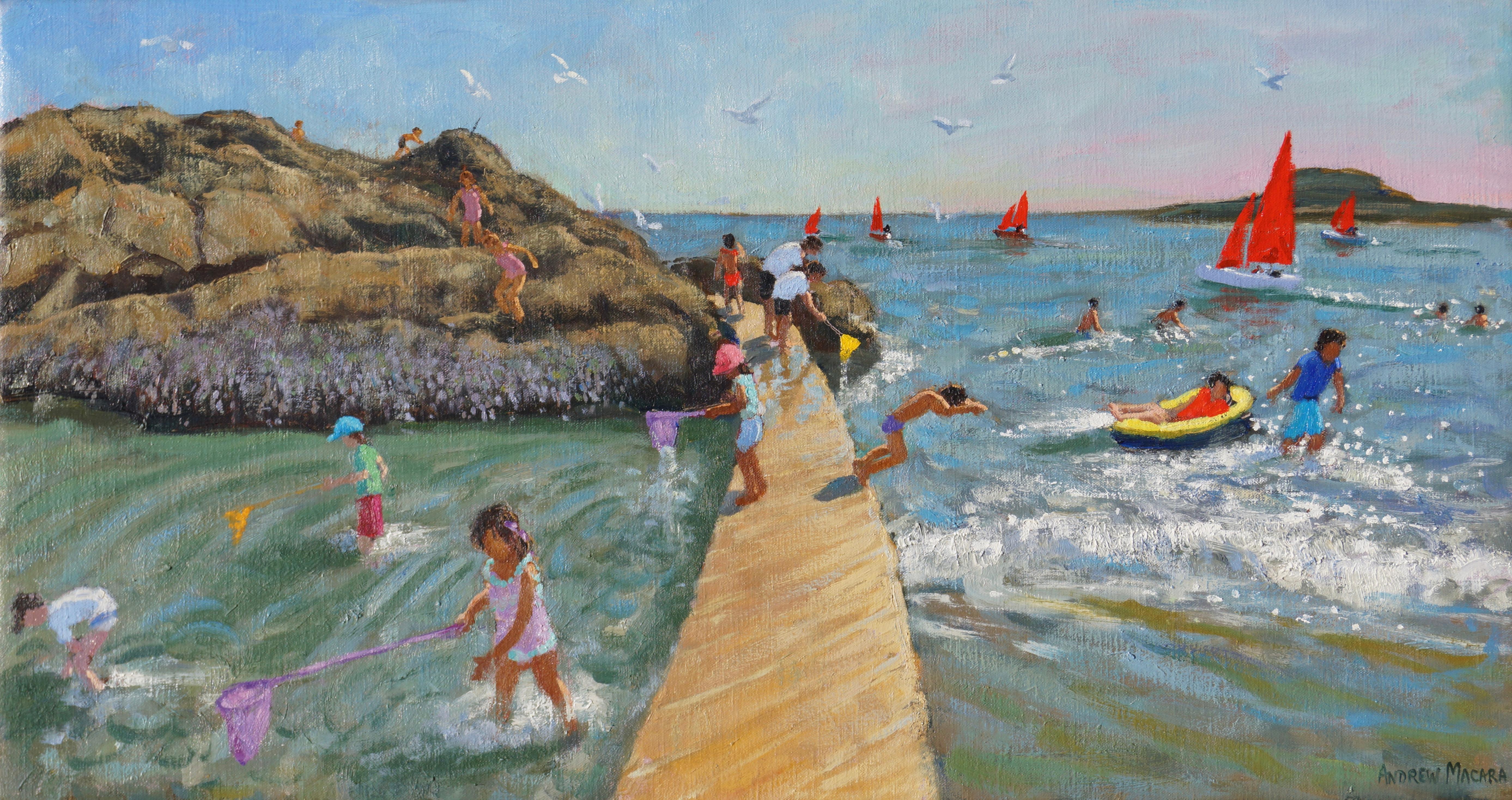 Fishing, swimming, sailing, Looe