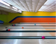 Bowling Lanes, Governors Island, New York City, 2004