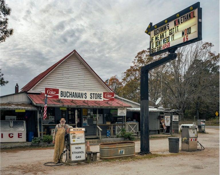 Buchanan's, North Carolina, 2016  - Andrew Moore (Colour Photography) - Gray Color Photograph by Andrew Moore