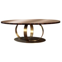 Andrew Oval Dining Table by Dom Edizioni