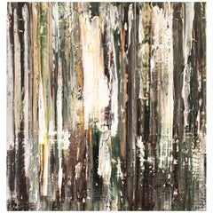 Andrew Plum Avenue of the Giants Contemporary Abstract Painting, 2012