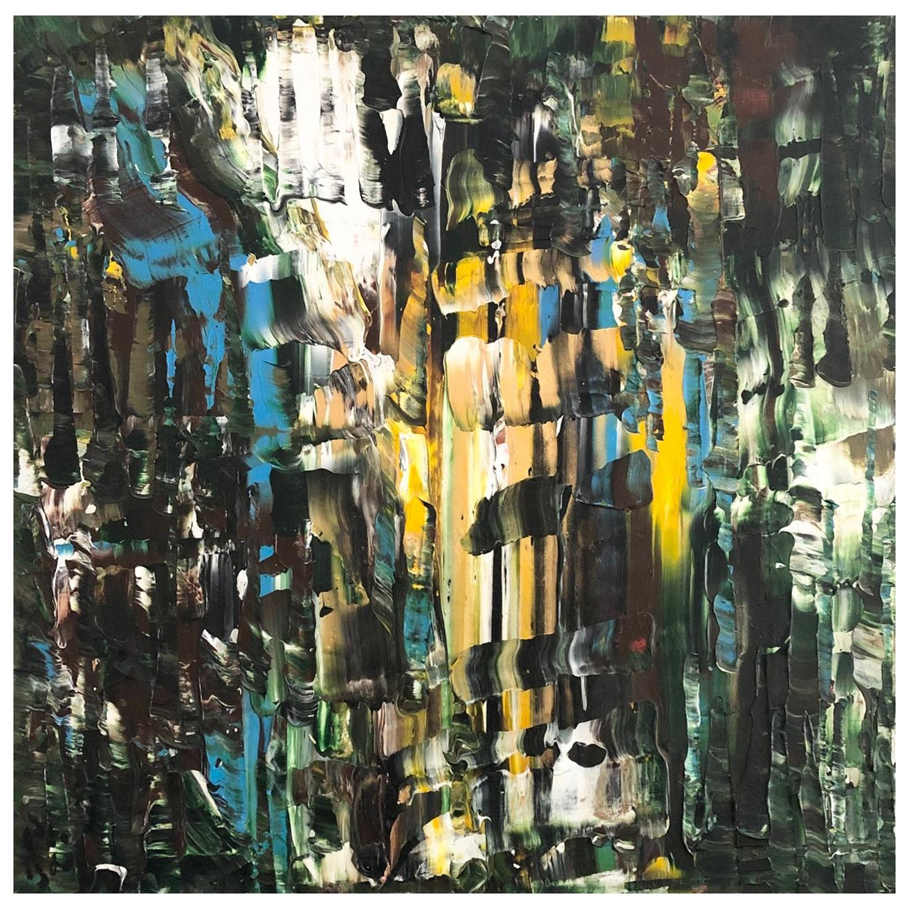 Andrew Plum Calypso Contemporary Abstract Painting, 2011