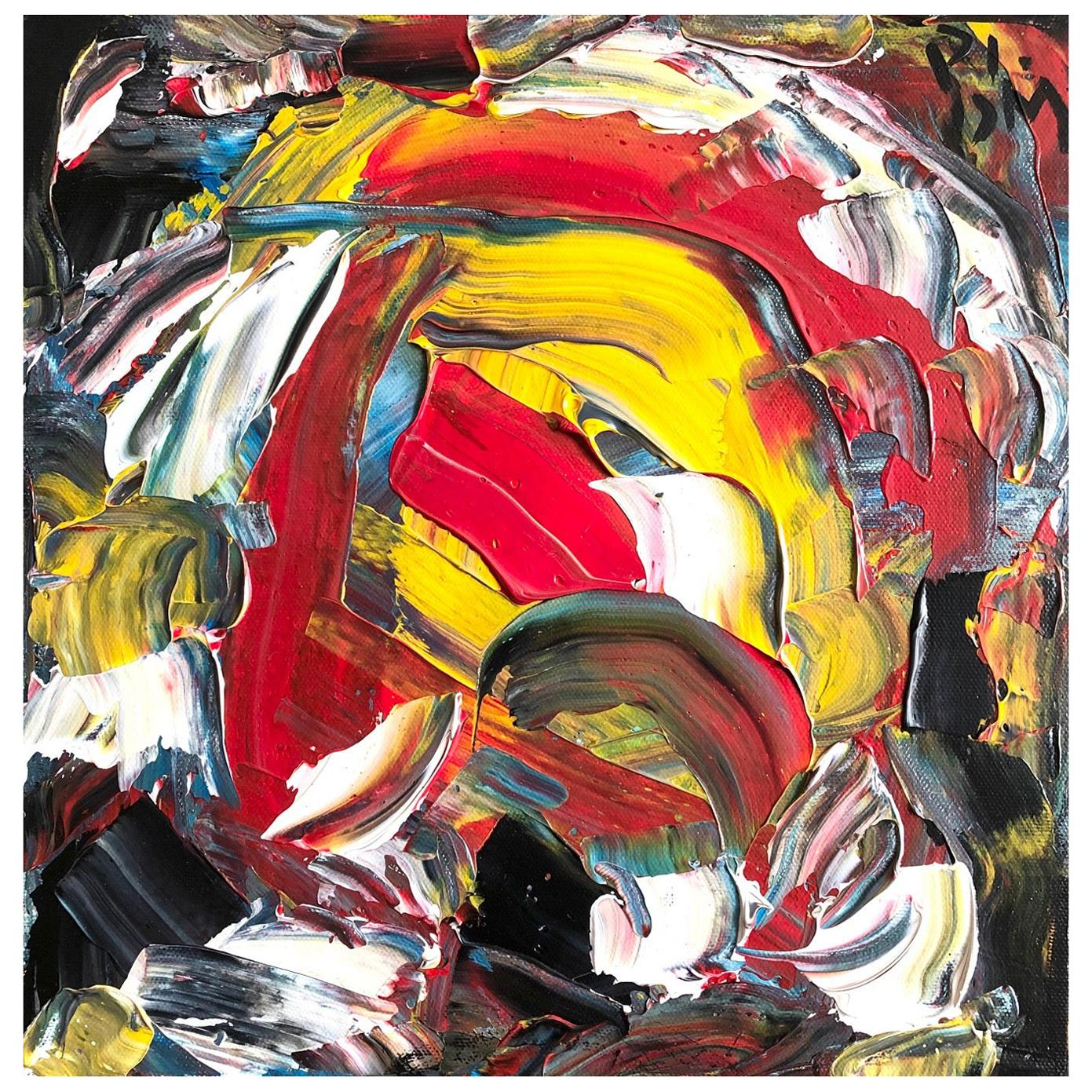 Andrew Plum Rooster Contemporary Abstract Painting, 2008