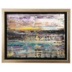 Andrew Plum Venus Sunrise Contemporary Abstract Painting, 2020
