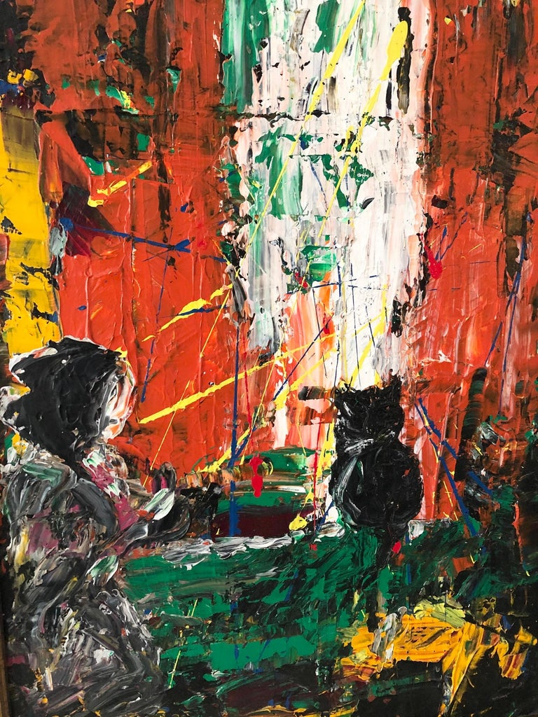 Canadian Andrew Plum Waiting Another Day Contemporary Abstract Painting, 2008 For Sale