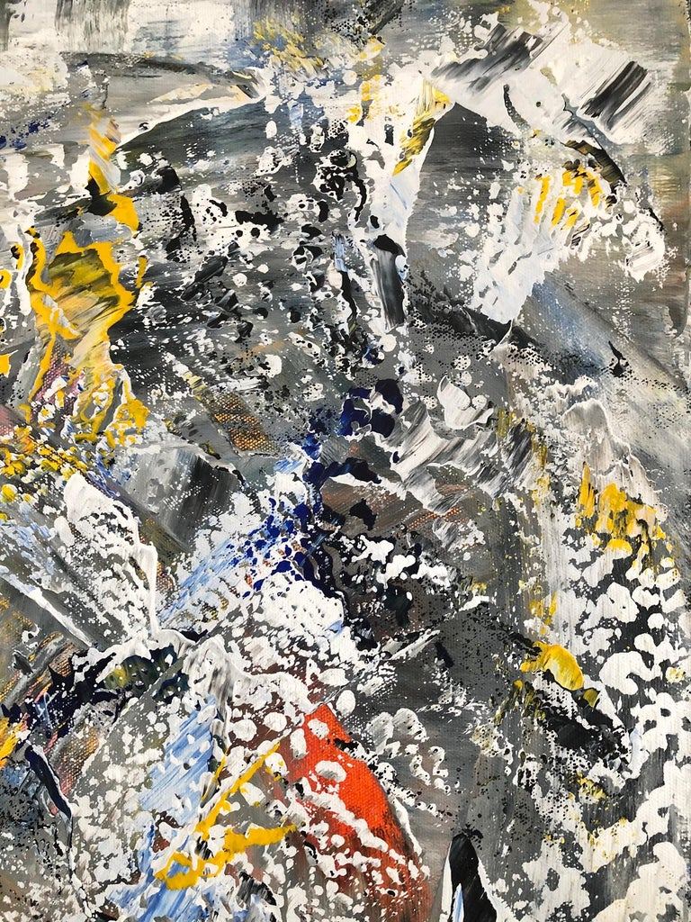 Andrew Plum Winter Vortex Contemporary Abstract Painting, 2020 In New Condition For Sale In Montreal, QC