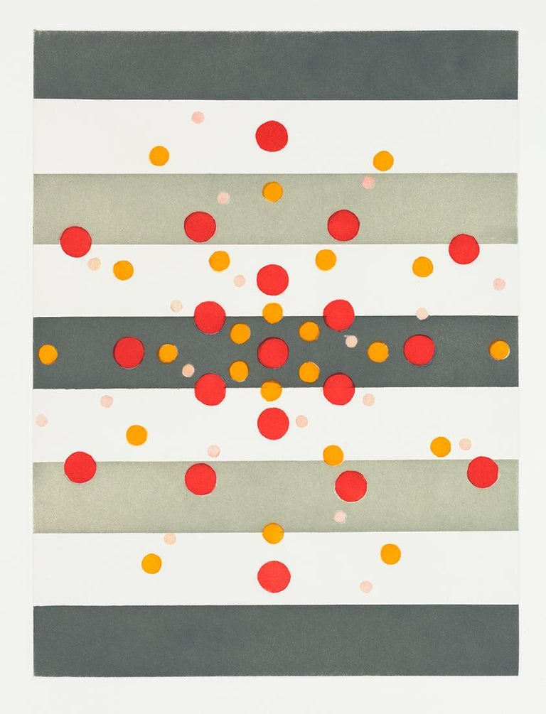 Andrew Spence Abstract Print - Dots