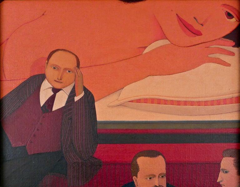 Andrew Stevovich Interior Painting - Pillow Talk Bar