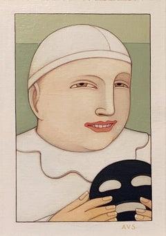 Portrait: Clown with Mask
