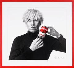 Archival 'Andy Warhol with Red Campbell's Soup', 2020