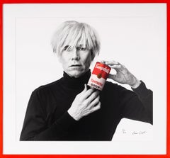 Andrew Unangst, Andy Warhol with Red Campbell's Soup Can, 1985/2018