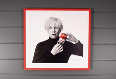 Andrew Unangst, Andy Warhol with Red Campbell's Soup Can (1985)