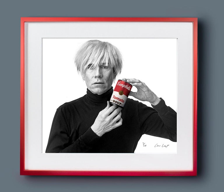 Andrew Unangst, Warhol with Campbell's Soup Can (1985) For Sale 7