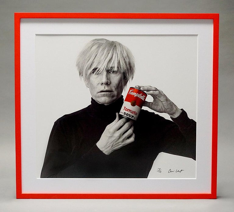 Andrew Unangst, Warhol with Campbell's Soup Can (1985) For Sale 8