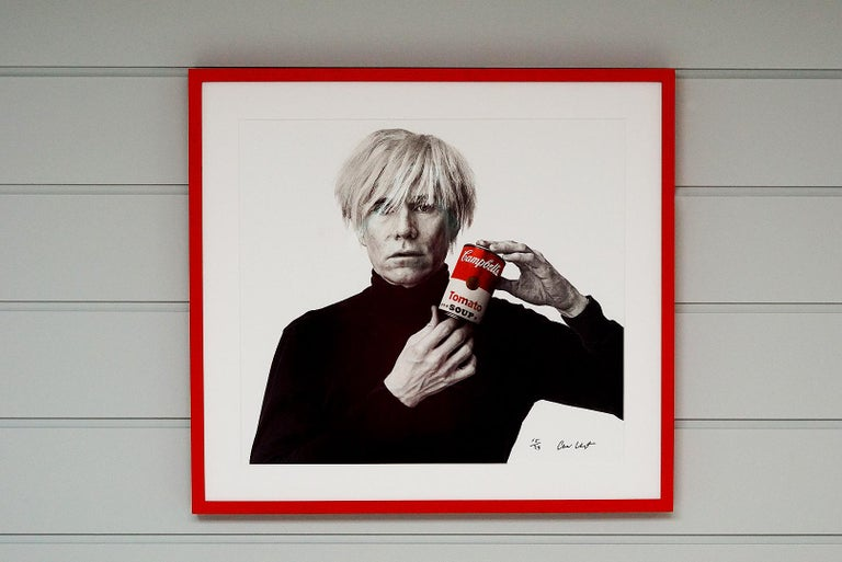 Andrew Unangst, Warhol with Campbell's Soup Can (1985) For Sale 3