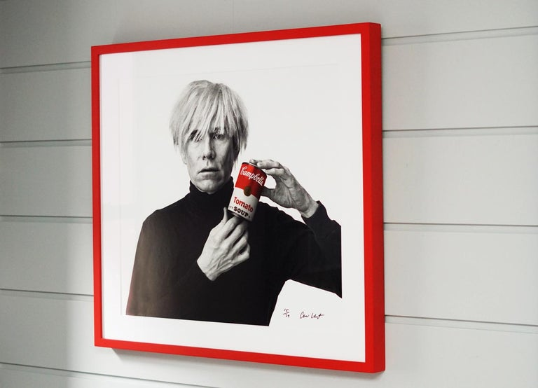 Andrew Unangst, Warhol with Campbell's Soup Can (1985) For Sale 4