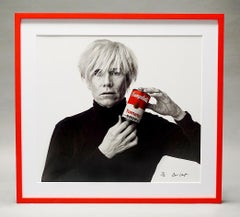 Andrew Unangst, Warhol with Campbell's Soup Can (1985)