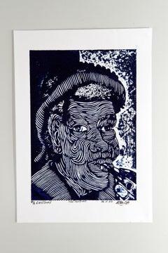 The Portrait, Andrew van Wyk, Cardboard print on paper