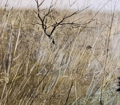 Rare Andrew Wyeth 1956 Collotype Print from Signed Edition Americana Artwork