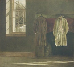 """The Quaker,"" Andrew Wyeth Interior Clothing Still Life"