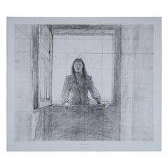 Andrew Wyeth Collotype Print Nogeeshik Native Portrait 1976 Metropolitan Museum
