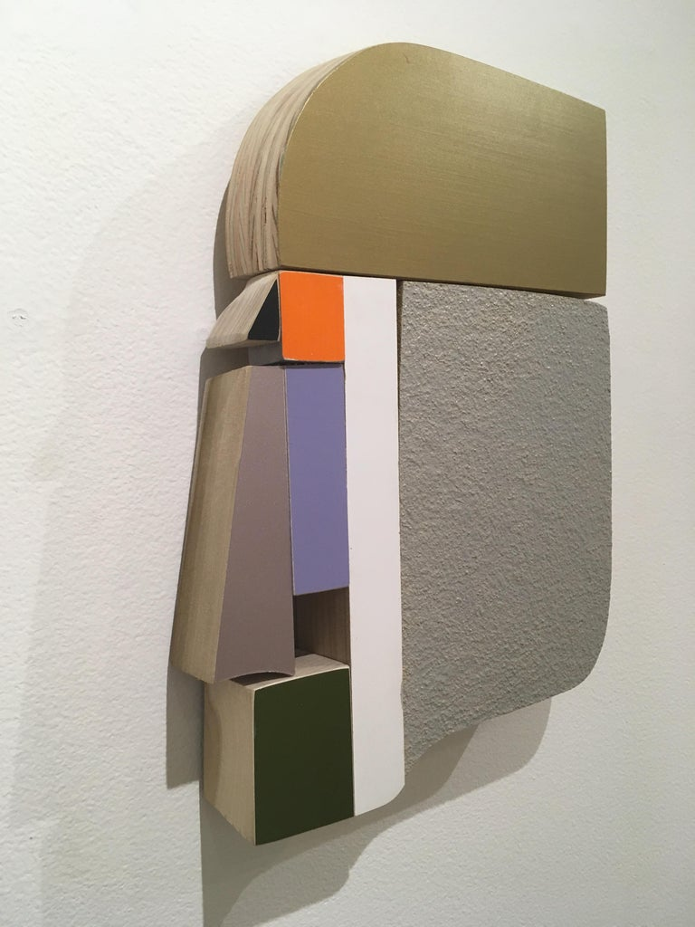 Profile - Abstract Geometric Sculpture by Andrew Zimmerman