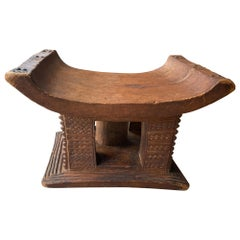 Andrianna Shamaris African Wood Ashanti Stool