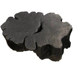 Andrianna Shamaris Amorphous Reclaimed Lychee Wood Coffee Table