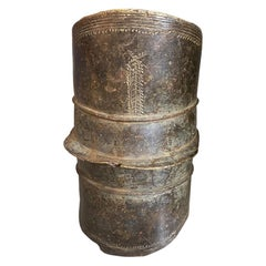 Andrianna Shamaris Antique African Bronze Ekonda Currency