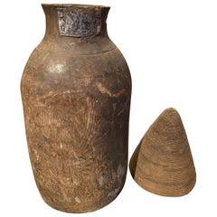 Andrianna Shamaris Antique African Milk Jug