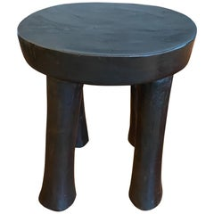Andrianna Shamaris Antique African Stool or Side Table