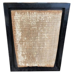 Andrianna Shamaris Antique Hand Carved Panel Framed