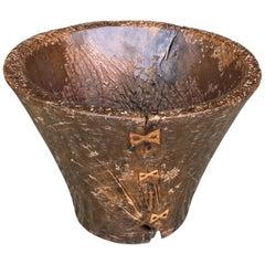 Andrianna Shamaris Antique Sculptural Wabi Sabi Container