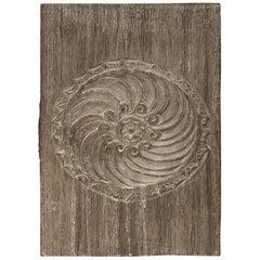Andrianna Shamaris Antique Teak Wood Carved Panel