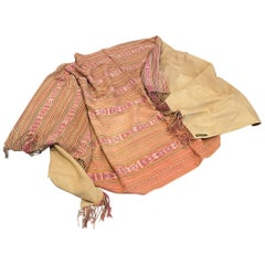 Andrianna Shamaris Antique Textile Backed in Suede