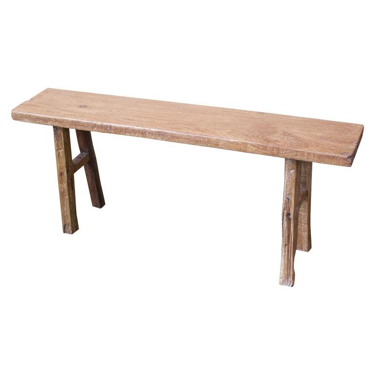Astonishing Andrianna Shamaris Antique Wabi Sabi Teak Wood Bench Uwap Interior Chair Design Uwaporg