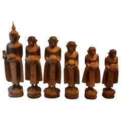 Andrianna Shamaris Buddha and Buddhist Monk Statues