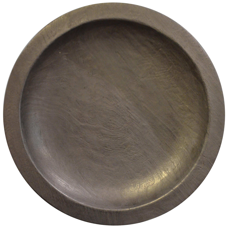 Andrianna Shamaris Charred Suar Wood Platter