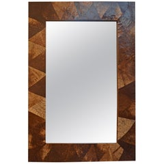 Andrianna Shamaris Coconut Shell Mirror