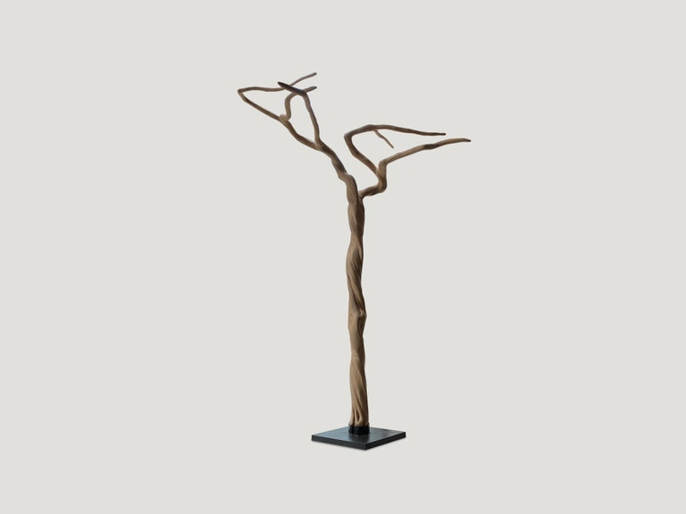 Andrianna Shamaris Coffee Tree Sculpture In Excellent Condition For Sale In New York, NY