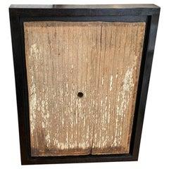 Andrianna Shamaris Framed Antique Hand Carved Panel