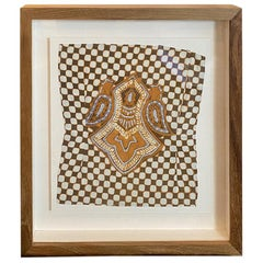 Andrianna Shamaris Framed Antique Ikat
