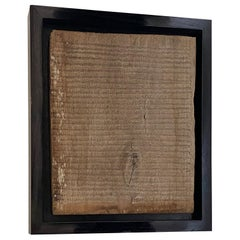 Andrianna Shamaris Framed Antique Wooden Panel