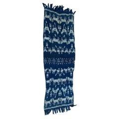Andrianna Shamaris Indigo Cotton Sumba Textile