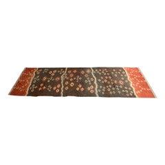 Andrianna Shamaris Linen and Cotton Vivid Antique Textile