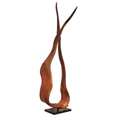 Andrianna Shamaris Mahogany Wood Sculpture