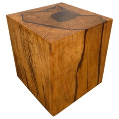 Andrianna Shamaris Minimalist Tamarind Wood Side Table
