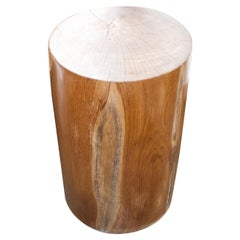 Andrianna Shamaris Natural Teak Wood Pedestal